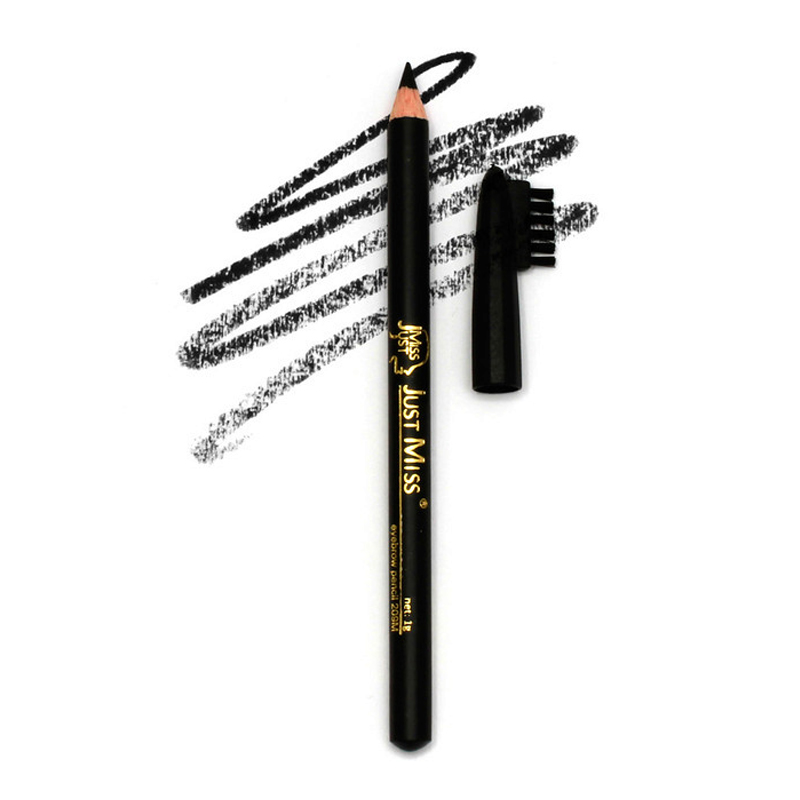 Just Miss Art Of Beauty Eyebrow Pencil 209M Black 1gr | Gogobli