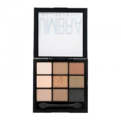 Just Miss Art Of Beauty Eyeshadow Palette Umbra Tanned