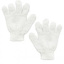 Kay Bath Exfoliating Bath Glove White | gogobli