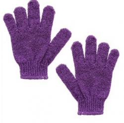 Kay Bath Exfoliating Bath Glove Purple | gogobli