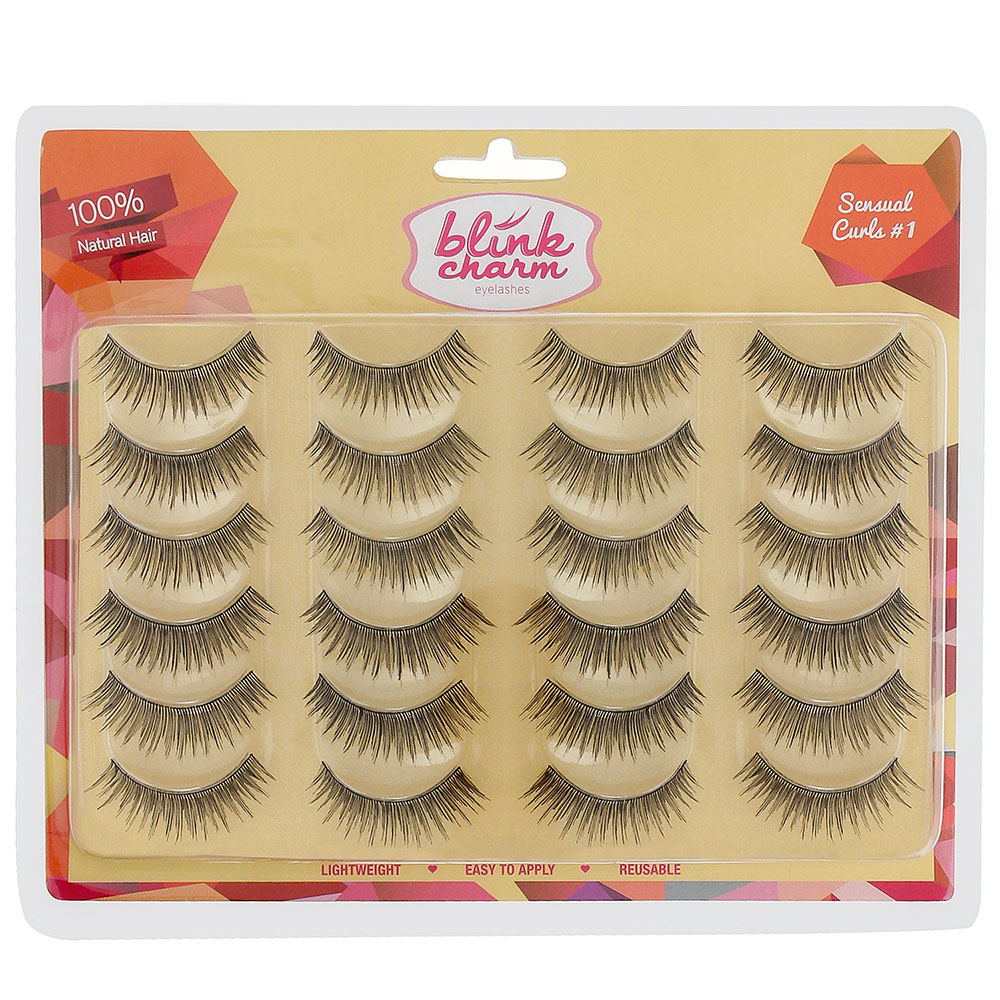 Blink Charm Sensual Curls #1 (Professional Pack) | Gogobli