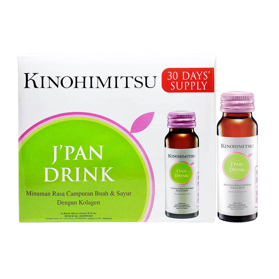 Kinohimitsu Jpan Beauty Drink Collagen 16 Botol Update Daftar Colis Sakura 2500mg Brand