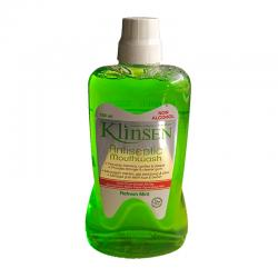 Klinsen Antiseptic Mouthwash Refresh Mint 750ml