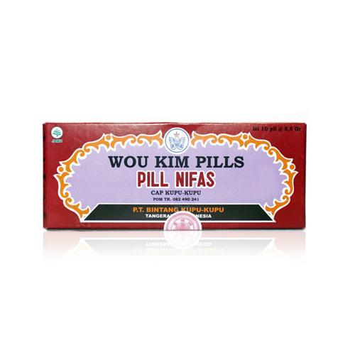 Bintang Kupu-Kupu Wou Kim Pills 10pil Gogobli