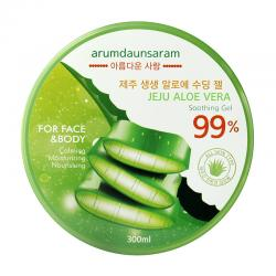 Arumdaunsaram Jeju Aloe Vera Soothing Gel 99% 300ml
