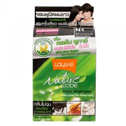 Lolane Nature Code Color Shampoo Dark Brown