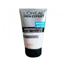 Loreal Men Expert White Active Brightening Foam 100ml