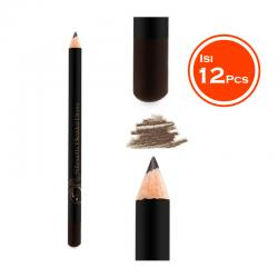 Madame Gie Silhoutte Blended Brow - Pensil Alis 01 Espresso Brown (Isi 12pcs)