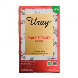 Madu Uray Honey and Ginger Stick (10 Stick @ 12gr)