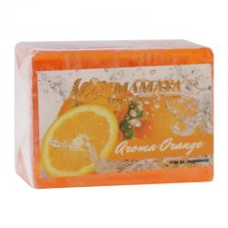 Mamaya Transparent Soap Aroma Orange 41gr 12 pcs