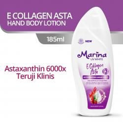 Marina Hand and Body Lotion UV White E Collagen Asta 185ml