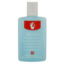 Mavala Nail Polish Rem Blue Plastic Bottle 100ml