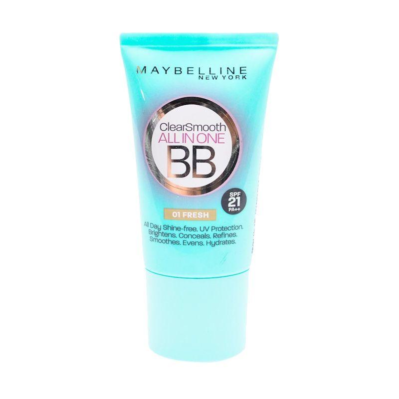 Maybelline BB Cream Clear Smooth 01 Fresh 18ml Gogobli