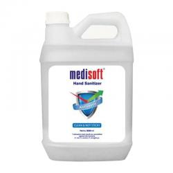 MEDISOFT Hand Sanitizer Clean and Not Sticky 4000ml
