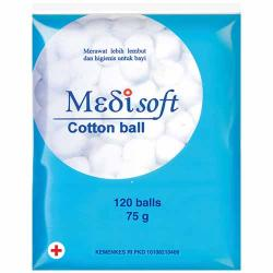 Medisoft Cotton Ball 120s