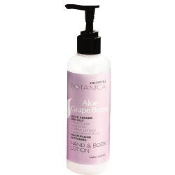 Mineral Botanica Hand and Body Lotion Aloe Grape Bursts 250ml