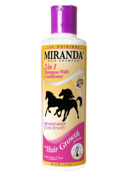 Miranda 2In1 Shampoo With Conditioner | Cat Rambut | gogobli