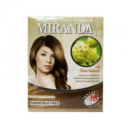 Miranda Hair Magic Shampoo Golden Brown 30ml