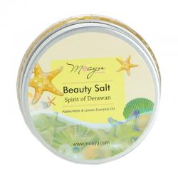 Moayu Beauty Salt Spirit of Derawan Peppermint Lemon 150gr