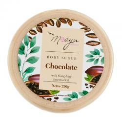 Moayu Body Scrub Chocolate 250gr
