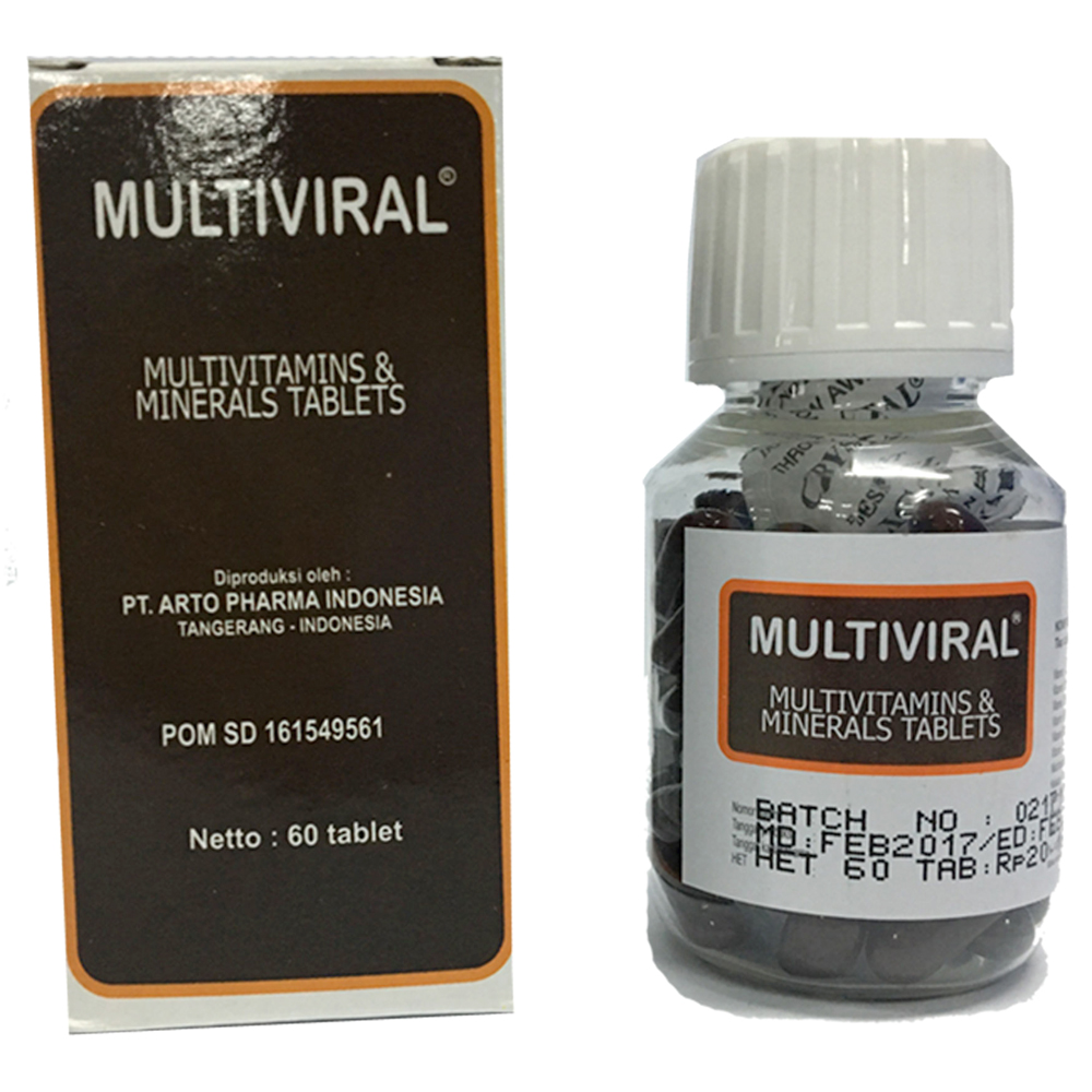 Multiviral 60 Tablet