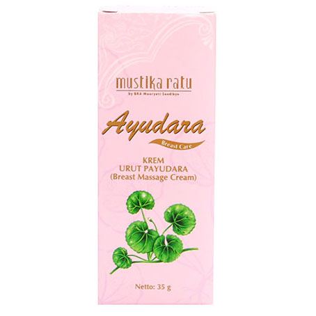 Mustika Ratu Ayudara Breast Care Massage Cream 35gr | Gogobli