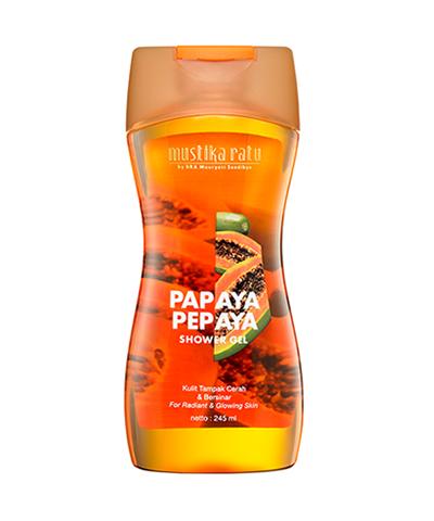 Mustika Ratu Pepaya Shower Gel 245ml Gogobli