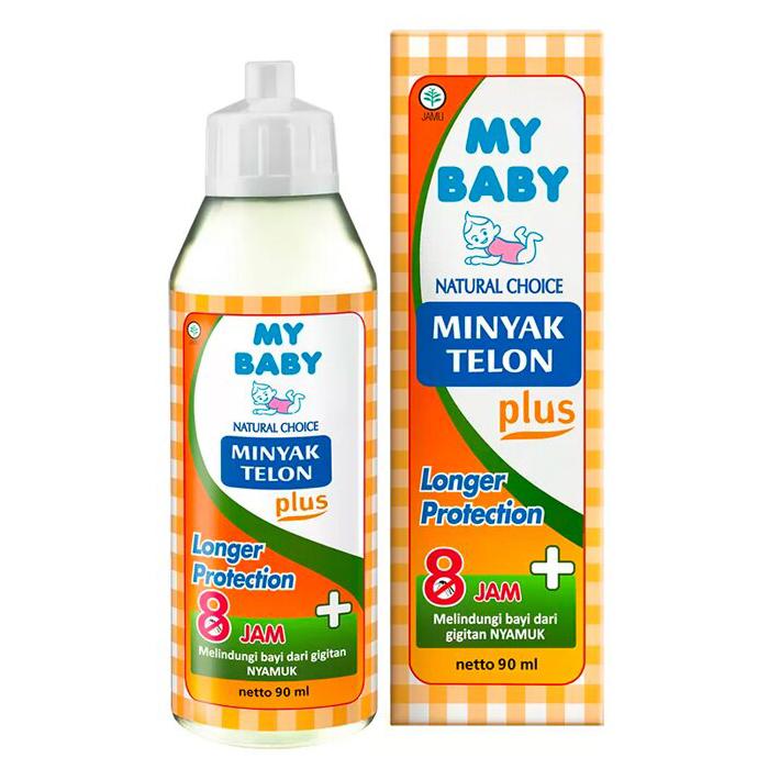 My Baby Minyak Telon Plus Longer Protection (8 jam) 90ml