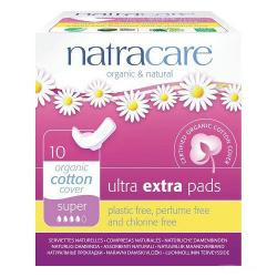 Natracare Ultra Extra Pads Super 10s