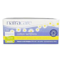 Natracare Applicator Tampon Regular 16s