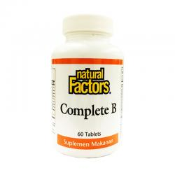 Natural Factors Complete B (60Tablet)