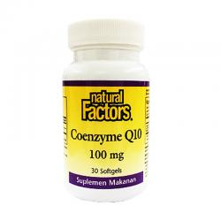 Natural Factors Coenzyme Q10 (30 Softgels)