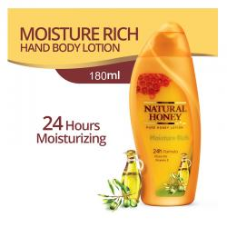 Natural Honey Hand and Body Lotion Moisture Rich 180ml