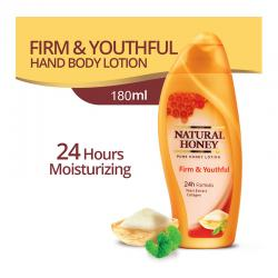 Natural Honey Hand and Body Lotion Firm and Youthful 180ml