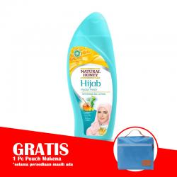 Natural Honey Hand and Body Lotion Hijab Hydra Fresh 450ml (GRATIS 1pc POUCH MUKENA)