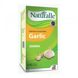 Naturalle Garlic 3000mg 100 Soft Capsule