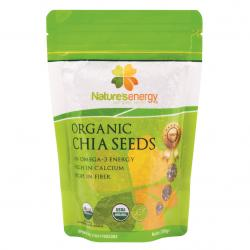Natures Energy Organic Chia Seeds 250gr