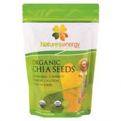 Natures Energy Organic Chia Seeds 500gr