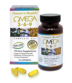 Natures Health Omega 3-6-9 45 Softgels