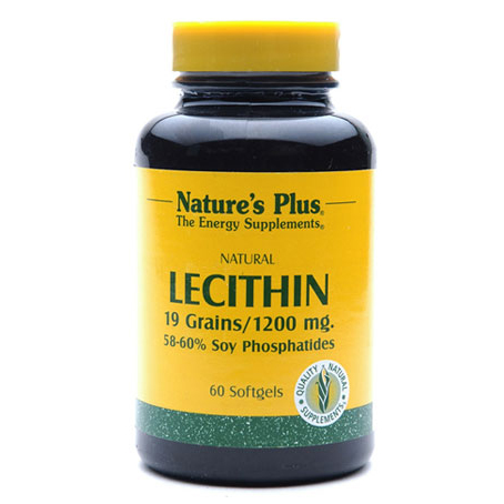 Natures Plus Lecithin 60 Softgels