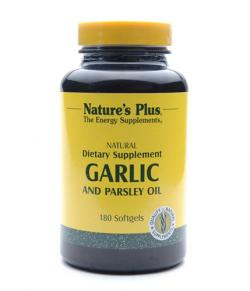 Natures Plus Garlic 180 softgels
