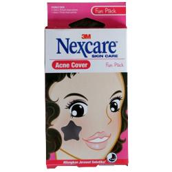 Nexcare Acne Cover Single Pack - Fun Pack (10 Pack)