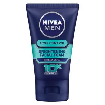 Nivea Men Acne Control Brightening Facial Foam 100ml Gogobli