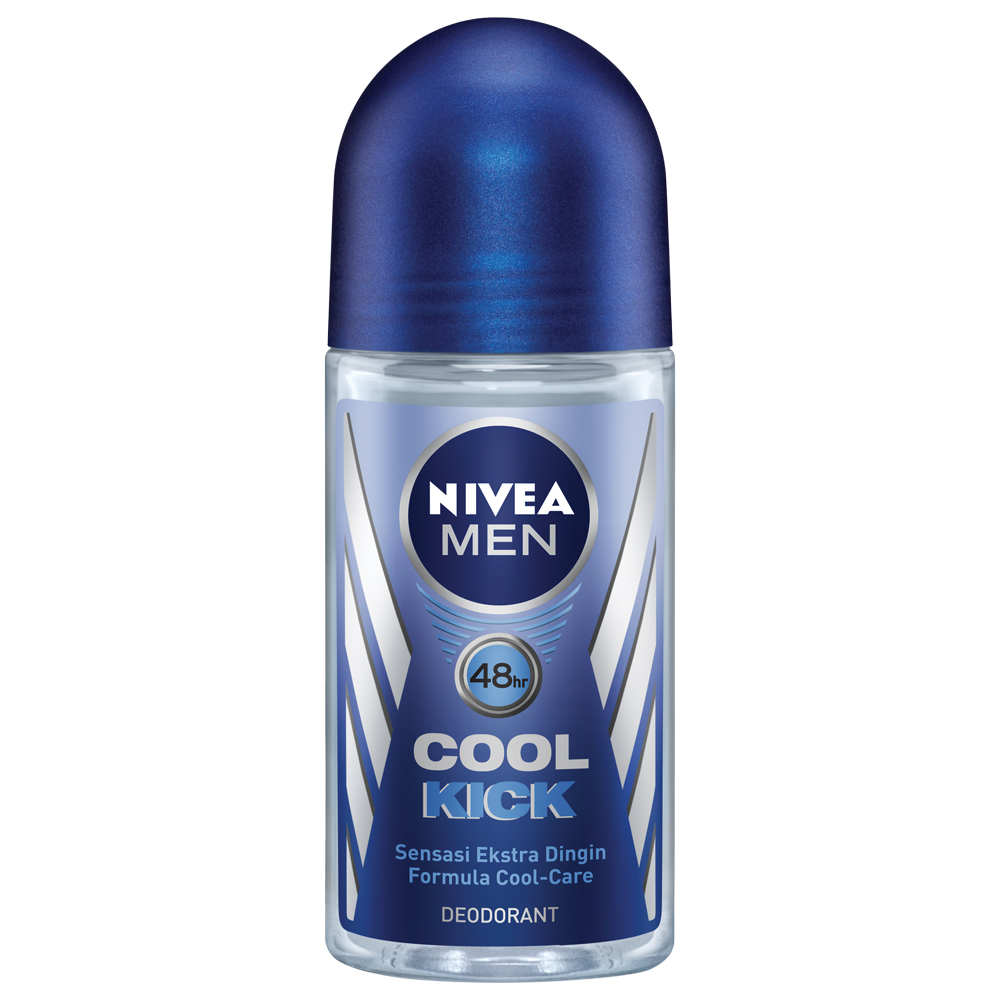 Nivea Deodorant Cool Kick Roll On Male 25ml | Gogobli