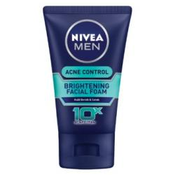Nivea Men Oil Control Acne Clear Foam 100ml