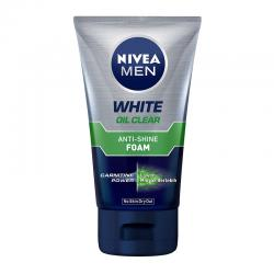 Nivea Men White Oil Clear Anti-Shine Foam 100ml