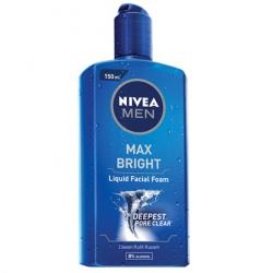 Nivea Men Max Bright Liquid Facial Foam 150ml