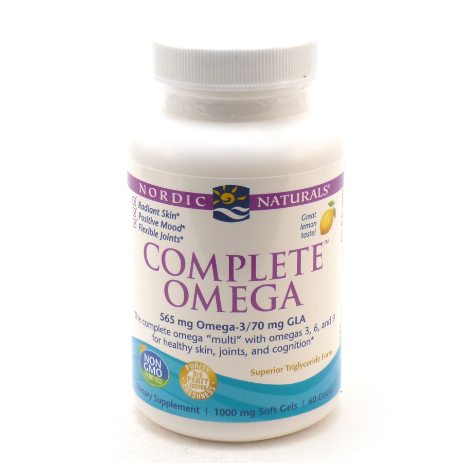 Nordic Natural Complete Omega 3-6-9 60Softgels