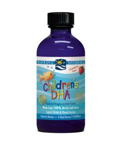 Nordic Natural Childrens DHA (Strawberry) 4oz