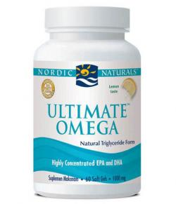 Nordic Natural Ultimate Omega Lemon 60softgels